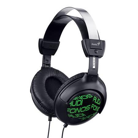 Genius GHP-505X 時尚花紋設計-大耳罩抗噪式專業耳機