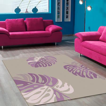 【范登伯格】花草集★森夏椰林絲質地毯(160x230cm)