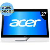 Acer T272HUL 27型寬2K超高畫質10點觸控液晶螢幕