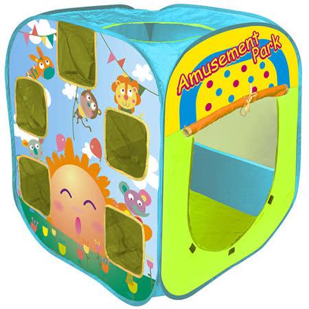 寶貝樂 遊樂園帳篷折疊遊戲球屋送100球