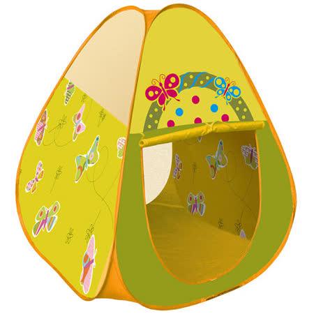 寶貝樂 三角蝴蝶帳篷折疊遊戲球屋送200球
