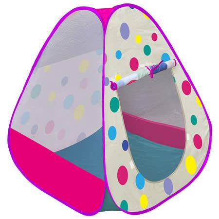 寶貝樂 繽粉彩球帳篷折疊遊戲球屋送200球(紫)