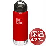 美國Klean Kanteen 保溫鋼瓶473ml_桑格紅