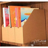 【PS Mall】牛皮紙資料雜誌收納盒_5個(J366)