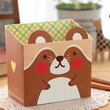 【PS Mall】時尚可愛動物收納盒迷你小號_2個(J521)