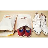 【PS Mall】旅行居家用必備收納袋束口整理袋鞋用_2枚入(J056)