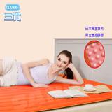 【SANKI三貴】日本SANKI獨立氣泡發熱舒適雙人保暖墊(時尚暖橙1入)