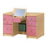 粉紅佳人鏡台桌