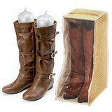 破盤《JoyLife創意小幫手》超值6雙馬靴收納組(3個收納袋+3雙鞋撐)~加贈除臭乾燥劑3入