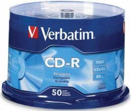 Verbatim 威寶 藍鳳凰白金 CD-R 52X 燒錄片(100片)