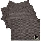《M.B.H─辛吉德爾》PVC編織餐墊(淺棕)(4入)