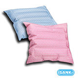 淑女粉2入 - SANKI三貴兩用冰涼坐墊(靠枕)