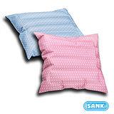 淑女粉1入+寶貝藍1入 - SANKI三貴兩用冰涼坐墊(靠枕)