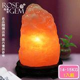 【瑰麗寶】精選玫瑰寶石鹽晶燈14-15kg 1入