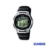 【CASIO卡西歐】休閒運動電子錶 W-213-1A