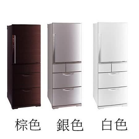 領券再折$2500『MITSUBISHI』☆ 三菱520公升變頻五門電冰箱 MR-BX52W