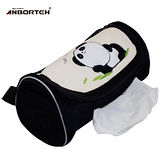 【安伯特】可愛貓熊面紙套(黑色圓仔款)