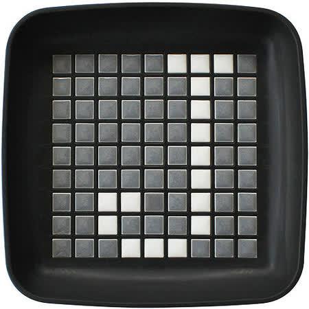 《Sceltevie》馬賽克拼貼置物盒(黑)