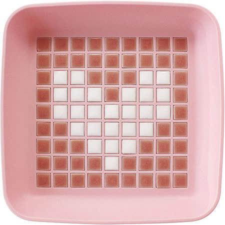 《Sceltevie》馬賽克拼貼置物盒(粉)