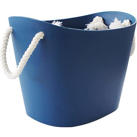 《Sceltevie》棉繩收納籃(藍S)