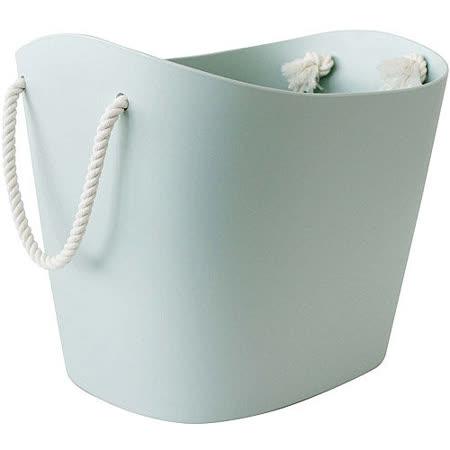 《Sceltevie》棉繩收納籃(淺藍M)