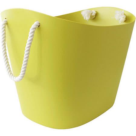 《Sceltevie》棉繩收納籃(綠L)