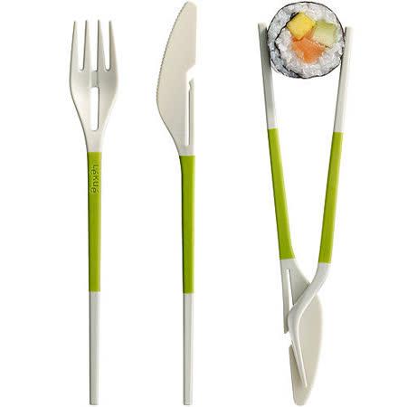 《LEKUE》3in1餐具(綠)