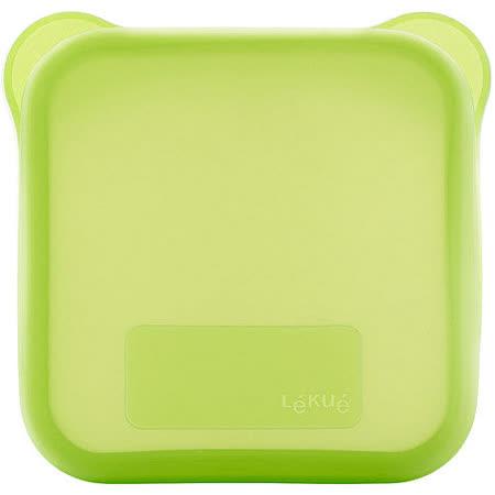 《LEKUE》三明治盒(綠)