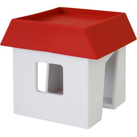 《Waybe》小屋鍋蓋鏟匙架(紅)