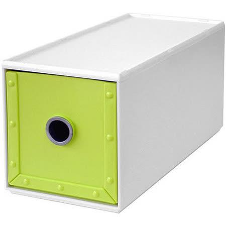 《Waybe》PP收納盒(綠S)