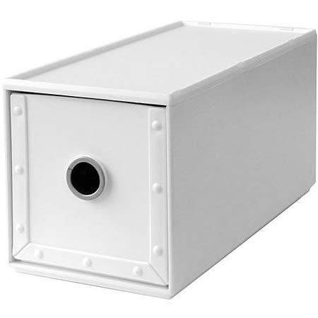 《Waybe》PP收納盒(白S)