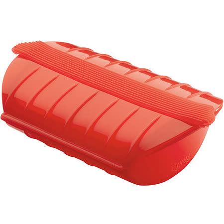 《LEKUE》蒸煮盒(紅mini)
