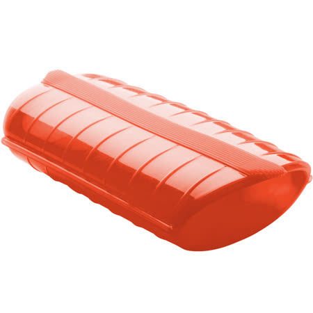 《LEKUE》蒸煮盒(紅S)