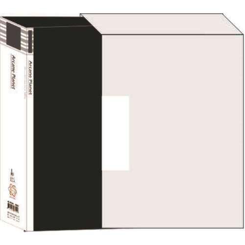 【檔案家】宇宙100入資料簿附盒   - 黑色