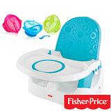 【費雪牌 Fisher-Price】多功能寶寶小餐椅+Nuby 學習吸盤碗(附湯匙)