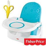 【費雪牌 Fisher-Price】多功能寶寶小餐椅+美國 幼兒學習軟性香蕉牙刷0-1Y(固齒器)