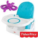 【費雪牌 Fisher-Price】多功能寶寶小餐椅+美國 幼兒學習軟性章魚牙刷(固齒器)