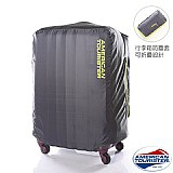 American Tourister 行李箱托運保護套(L/28吋)-萊姆綠