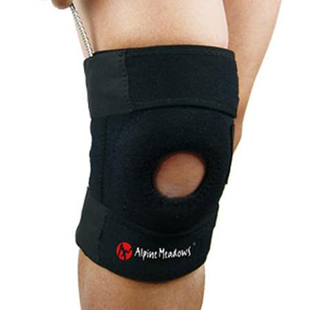 PUSH! 運動戶外休閒用品 單片式單向三束帶高效舒適護膝