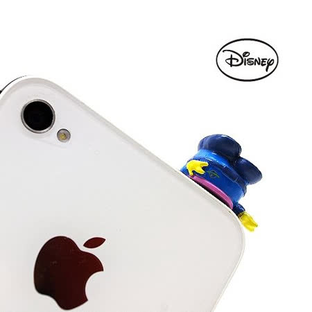 日本進口Disney【三眼怪鑽地洞】耳機孔防塵塞