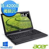 Acer E1-572G 15.6吋 i5-4200U R7 2G獨顯 1TB Win8.1強效筆電 (E1-572G-54204G1TDnkk03)