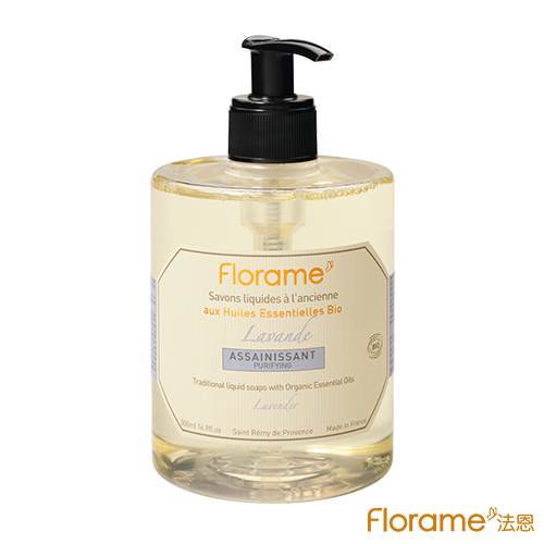 ~Florame法恩~有機法式 液態皂500ml~放鬆薰衣草