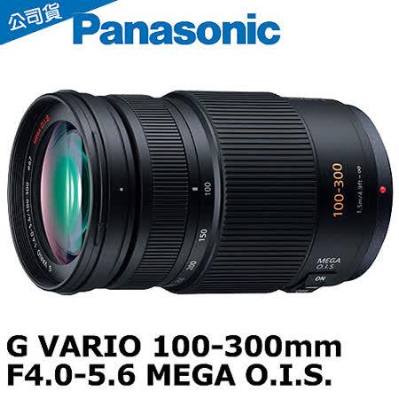 Panasonic 100-300mm F4-5.6 MEGA O.I.S(公司貨).-送大吹球清潔組+67UV保護鏡