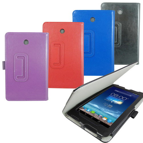 T26瘋馬紋支架 ASUS FonePad 7 ME372CG (ME372) 平板皮套