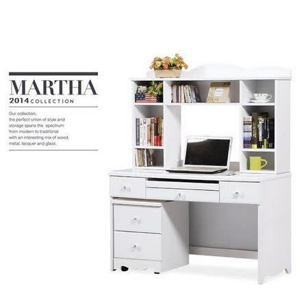 Bernice - 銀夏電腦桌全組 (可拆買)