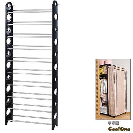 獨家加贈防塵套~ 立體十層可調式防塵收納鞋櫃