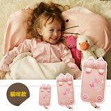 【Angelala】兒童可愛動物造型睡袋(貓咪款)