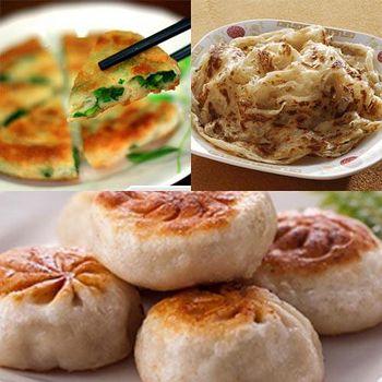 慕鈺華 三星美食6件組 (蔥油餅2+餡餅2+抓餅2)(含運)