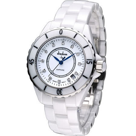 Diadem 黛亞登 F4 時尚陶瓷腕錶 2D0132SS