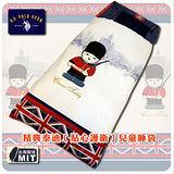 精選美國U.S. POLO ASSN品牌-精典泰迪-貼心護衛-純棉鋪棉兩用兒童睡袋